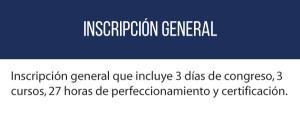 Inscripción general